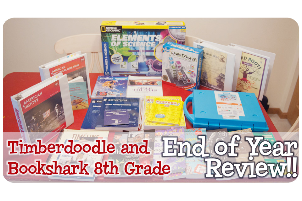 Homeschool Curriculum End Of Year Review For 2016 17 Timberdoodle